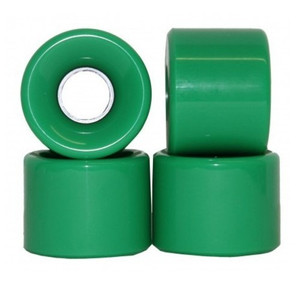 Koston Blank Longboard Wheels 59 x 45 mm / 78a Green - Longboard Cruiser Wheel Set (4 wheels) – Bild 1