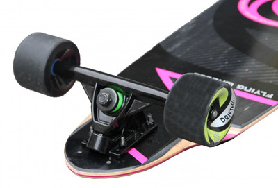 Flying Wheels Longboard Complete Cruiser Cyclone FW board 40.0 x 9.5 inch Cruiser Carver - Special Edition with Koston ball bearings – Bild 4