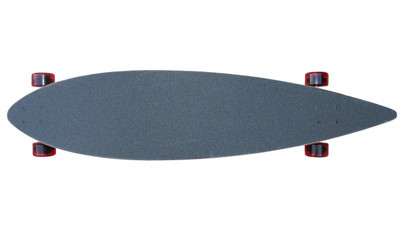 Flying Wheels Longboard Complete Pintail board 113 x 25 cm Carver Cruiser - Special Edition with Koston ball bearings – Bild 2