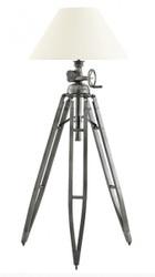 Casa Padrino Luxus Studioleuchte Marine IV Vintage Lampe Stehleuchte Gunmetal - Luxus Qualität -