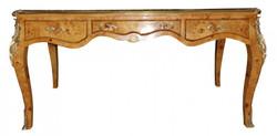 Casa Padrino Luxus Barock Schreibtisch Mahagony Sekretär - Antik Stil