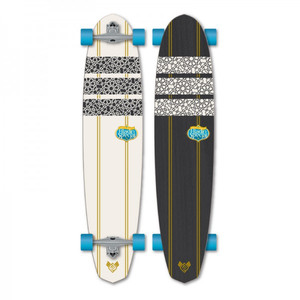 Flying Wheels Longboard Cruiser Aladin 45.0 x 10.0 inch complete board Carver - Special Edition with Koston ball bearings – Bild 1