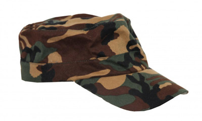 Flexfit Cap Skateboard Military Camo S/M