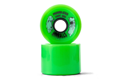Mindless Longboard Wheel Set (4 Rollen) Nimball Green 71mm / 80A - Cruiser Skateboard Rollen - Wheels – Bild 4