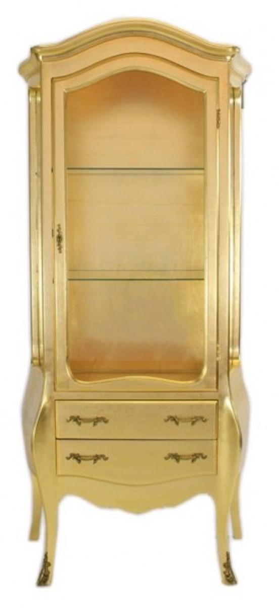 Casa Padrino Barock Vitrine Gold