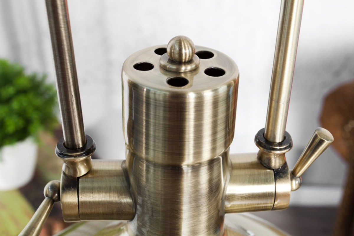 Casa padrino industrial hängeleuchte bronze mod2 45 cm industrie