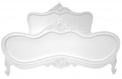 Barock Bett Maison Paris Weiß 180 x 200 cm aus der Luxus Kollektion von Casa Padrino
