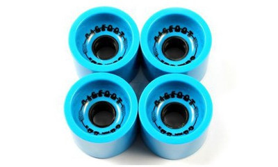 Big Foot Longboard Wheels Boardwalks Blue 68mm / 80a Wheel Set Rollen Skateboard Bigfoot