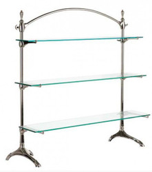 Casa Padrino luxury glass shelving plated - Luxury Collection