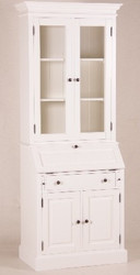 Casa Padrino shabby chic country style buffet cabinet cabinet White W 86 x H 215 cm - dining room cabinet