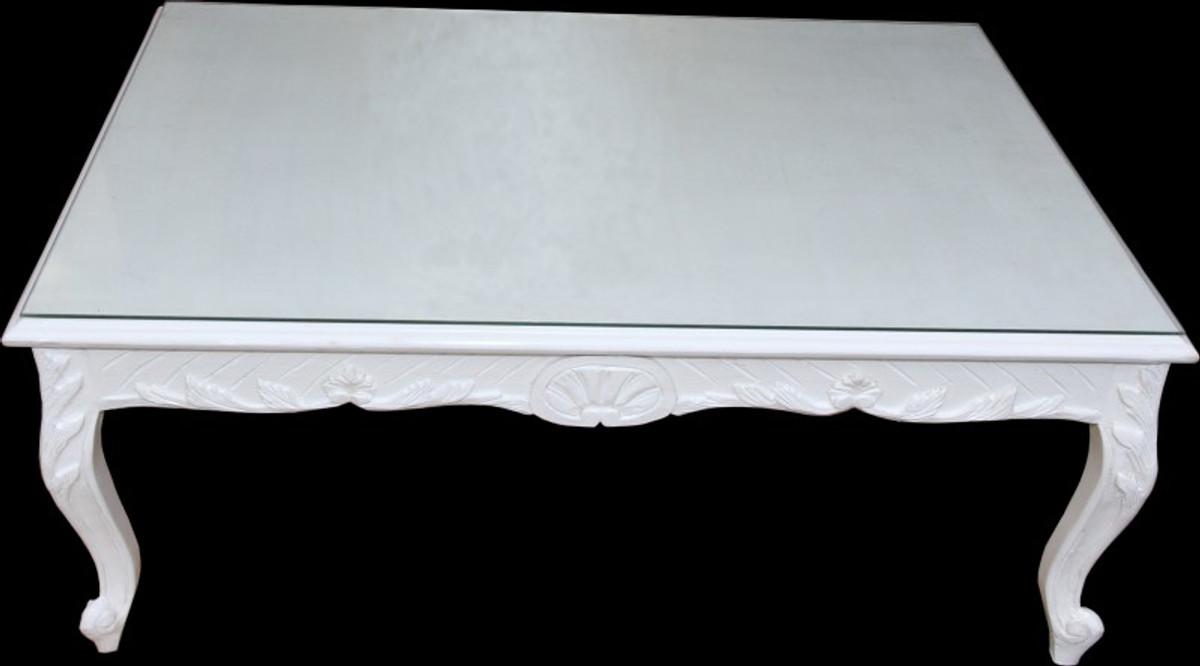 casa padrino barock couchtisch wei 120 x 80 cm mod2 couchtische barock couchtische. Black Bedroom Furniture Sets. Home Design Ideas