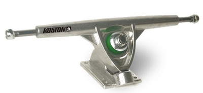 Koston Longboard Truck Set Silver 180mm (2 Achsen) Trucks – Bild 2