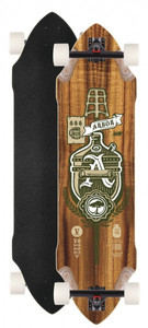 Arbor Longboard complete board Vugenhausen 37.0 x 10.0 inch Downhill Cruiser Carver - Special Edition with Koston ball bearings – Bild 1