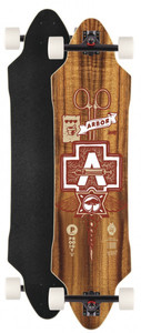 Arbor Longboard complete board Prodigy 38.0 x 9.85 inch Downhill Cruiser Carver - Special Edition with Koston ball bearings – Bild 1
