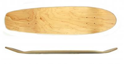 Koston Oldschool Blank Cruiser Deck 31.75 x 7.875 inch - Skateboard Cruiser Holz Deck