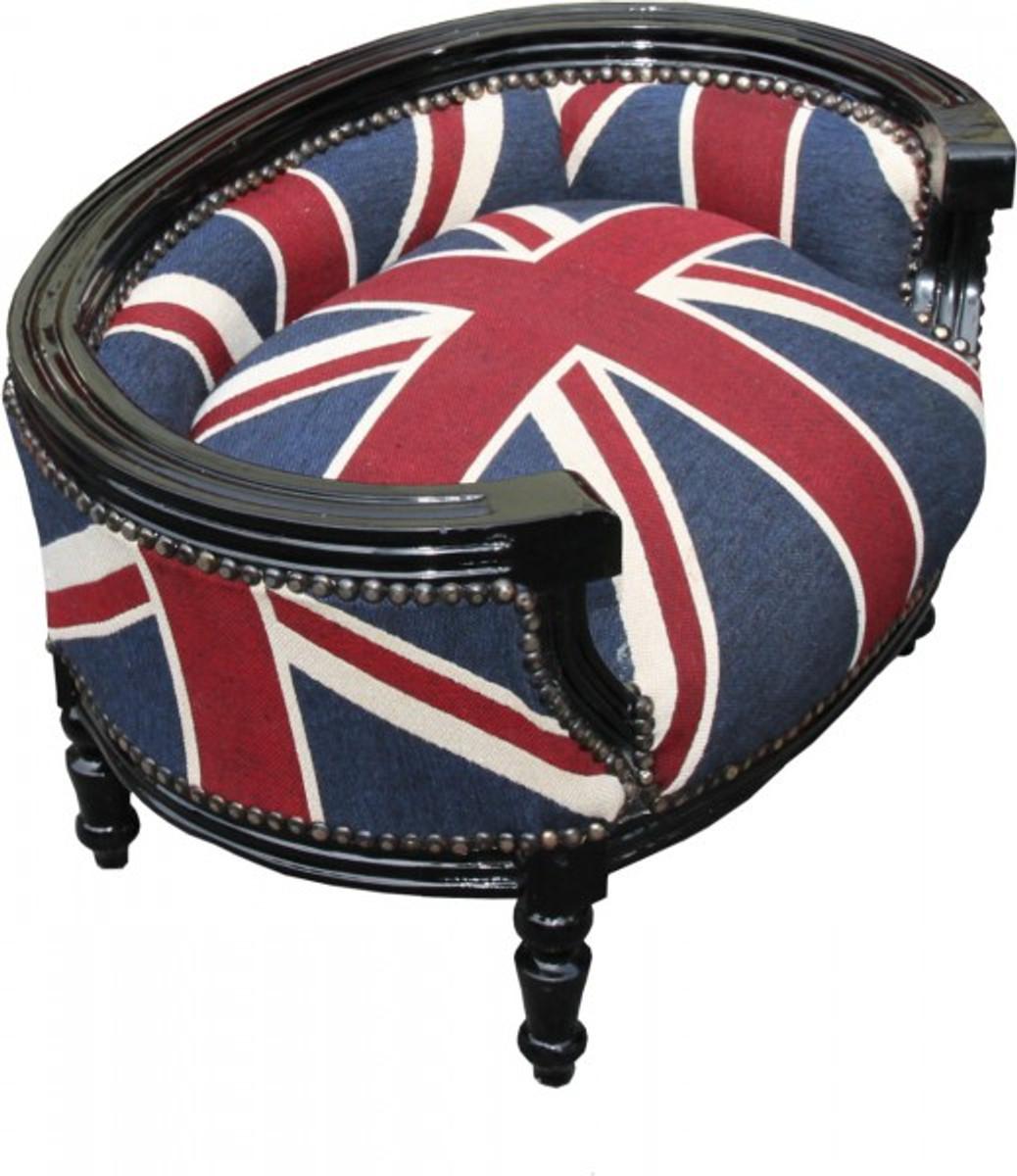 casa padrino baroque cats dogs sofa union jack black dog bed cat bed casa padrino color. Black Bedroom Furniture Sets. Home Design Ideas