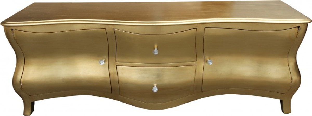Casa Padrino Baroque Tv Dresser Gold Antique Look 173 Cm Tv