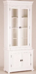Shabby chic, country-style buffet cabinet cabinet 100 x 45 x 245 cm Mod2 - dining room cabinet