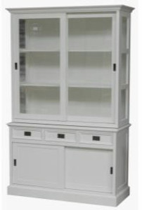 Casa Padrino Shabby Chic cottage style buffet cabinet cabinet 125cm ...