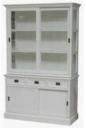 Casa Padrino Shabby Chic cottage style buffet cabinet cabinet 125cm - dining room cabinet