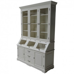 Casa Padrino Shabby Chic cottage style buffet cabinet cabinet 160cm ModF5 - dining room cabinet