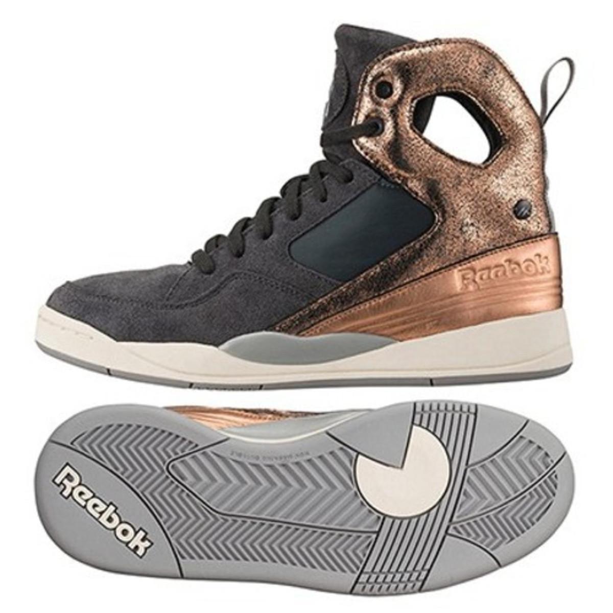 Reebok Damen Sneaker Schuhe Alicia Keys Court Gravel Rose Gold Sport Sneakers |