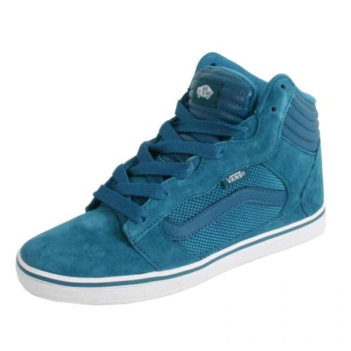 save off 7f27b a35ab Vans Skateboard Schuhe Amberton Hi Blue - Sneaker Skate Shoes