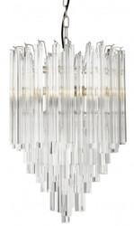 Casa Padrino luxury hanging lamp glass icicles - Art Deco hotel / restaurant lamp - Impressive light
