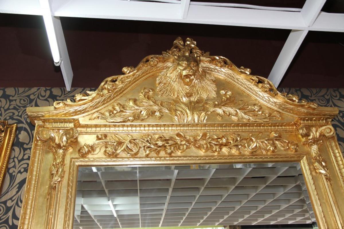 casa padrino luxus barock spiegelkonsole gold lion luxus wohnzimmer mobel konsole mit spiegel lowenkopf