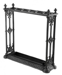 Casa Padrino luxury umbrella stand cast iron Grey Black - Luxury Collection Hotel - Baroque - Art Nouveau - Art Deco