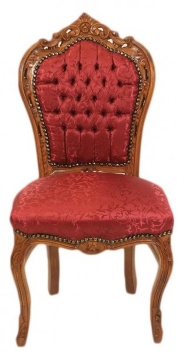 Luxus Möbel Kollektion Barock Möbel Bordeaux Braun Exzellente