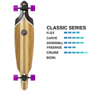Mindless Complete Longboard Maverick DT III Drop Through - Dropthrough Profi Longboard mit Koston Kugellagern – Bild 1