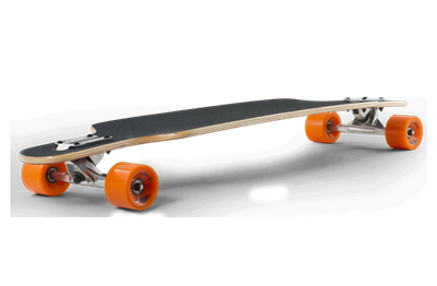 Mindless Complete Longboard Sanke II Brown Drop Through 39.0 x 9.5 inch -  Dropthrough Profi Longboard mit Koston Kugellagern – Bild 4