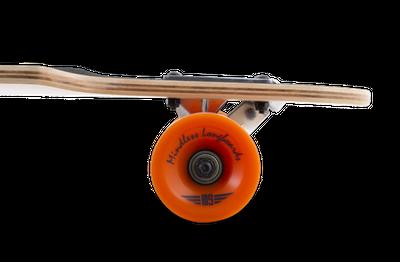 Mindless Complete Longboard Sanke II Brown Drop Through 39.0 x 9.5 inch -  Dropthrough Profi Longboard mit Koston Kugellagern – Bild 2