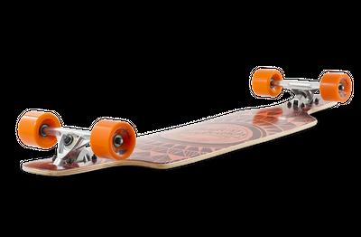 Mindless Complete Longboard Sanke II Brown Drop Through 39.0 x 9.5 inch -  Dropthrough Profi Longboard mit Koston Kugellagern – Bild 3