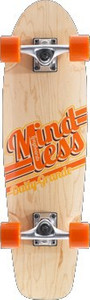 Mindless Daily Grande Oldschool Skateboard Profi Komplettboard Street Cruiser Natural mit Koston Kugellagern - Old School Komplett Skateboard