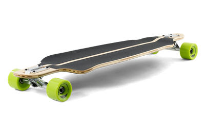Mindless Complete Longboard Savage III Black/Green Drop Through 39.75 x 10.0 inch -  Dropthrough Profi Longboard mit Koston Kugellagern – Bild 2