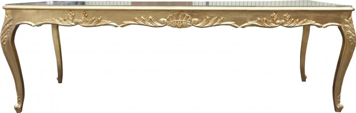 casa padrino barock esstisch gold 250 cm esszimmer tisch sondermodell casa padrino. Black Bedroom Furniture Sets. Home Design Ideas