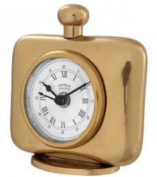 Casa Padrino Vintage Luxury Gold color brass table clock - Noble & Sumptuously - Table clock
