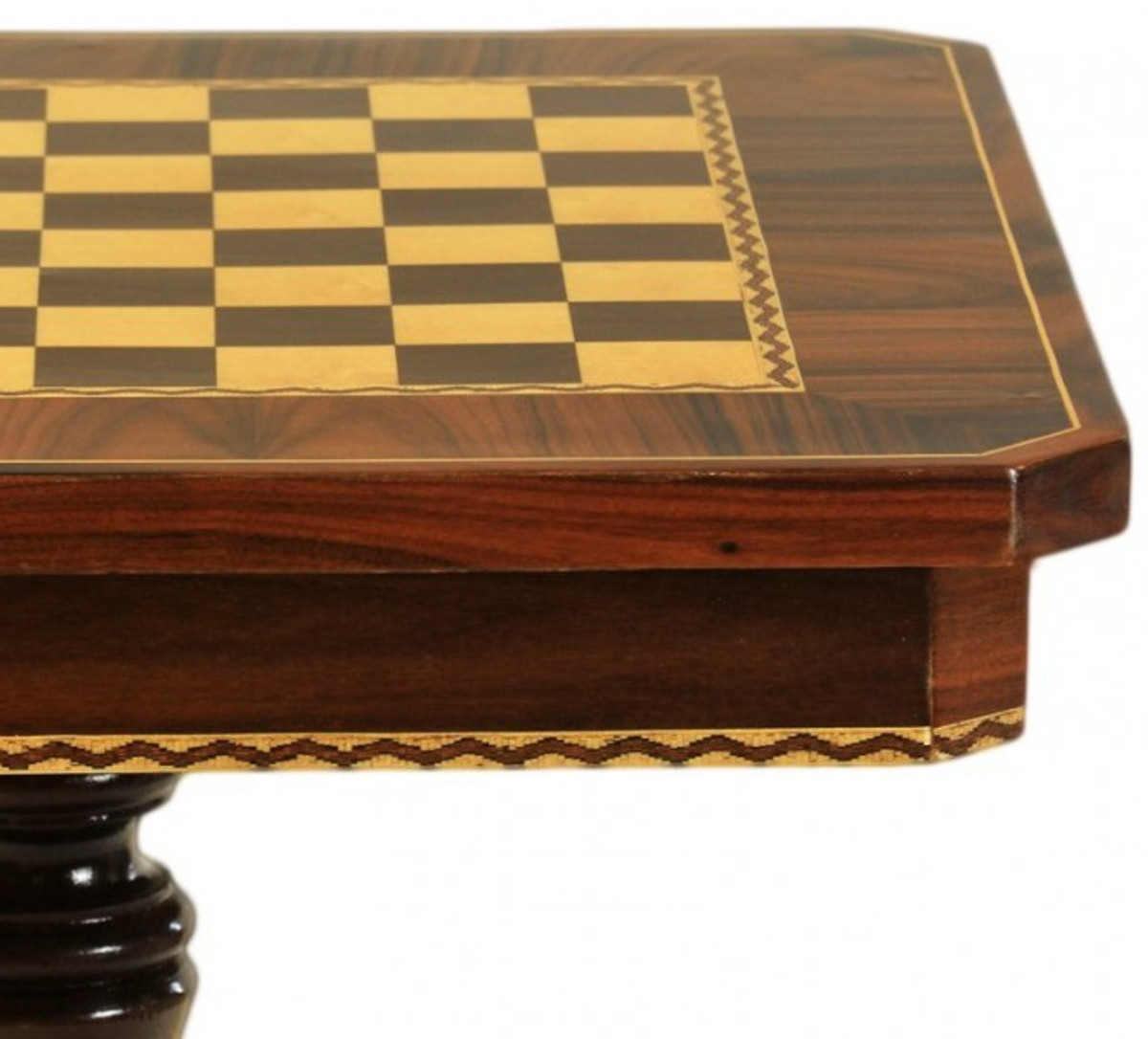 casa padrino barock spieltisch schach dame tisch mahagoni m bel antik stil art deco. Black Bedroom Furniture Sets. Home Design Ideas