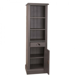 Casa Padrino country-style bathroom cabinet High cabinet with drawer - bathroom cabinet solid wood