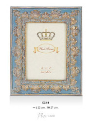 Casa Padrino Baroque picture frames White Antique Style 27 x 22 cm - Photo Frame Art Nouveau Antique style Mod AX3