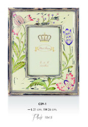 Casa Padrino baroque picture frame 26 x 21 cm antique look - Photo Frame Art Nouveau Antique style Mod AX13