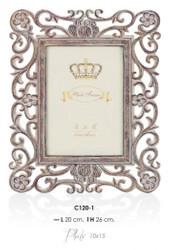 Casa Padrino Barock Bilderrahmen 26 x 20 cm Antik Look - Bilder Rahmen Foto Rahmen Jugendstil Antik Stil Mod AX16