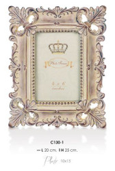 Casa Padrino baroque picture frame 25 x 20 cm antique look - Photo Frame Art Nouveau Antique style Mod AX20