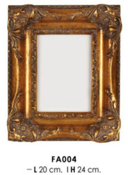 Casa Padrino Baroque Photo Frame Gold Antique Style 24 x 20 cm - Pictures Frame Photo Frame Art Nouveau Antique Style Mod AX23