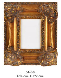 Casa Padrino baroque picture frame gold antique style 29 x 24 cm - Photo Frame Art Nouveau Antique style Mod AX24