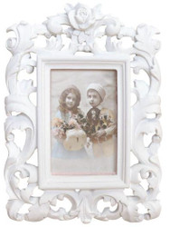 Casa Padrino baroque picture frame 28 x 20 cm antique look - Photo Frame Art Nouveau Antique style Mod AX25