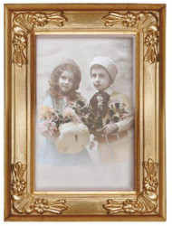 Casa Padrino baroque picture frame 19 x 14 cm gold - Photo Frame Art Nouveau Antique style Mod AX29