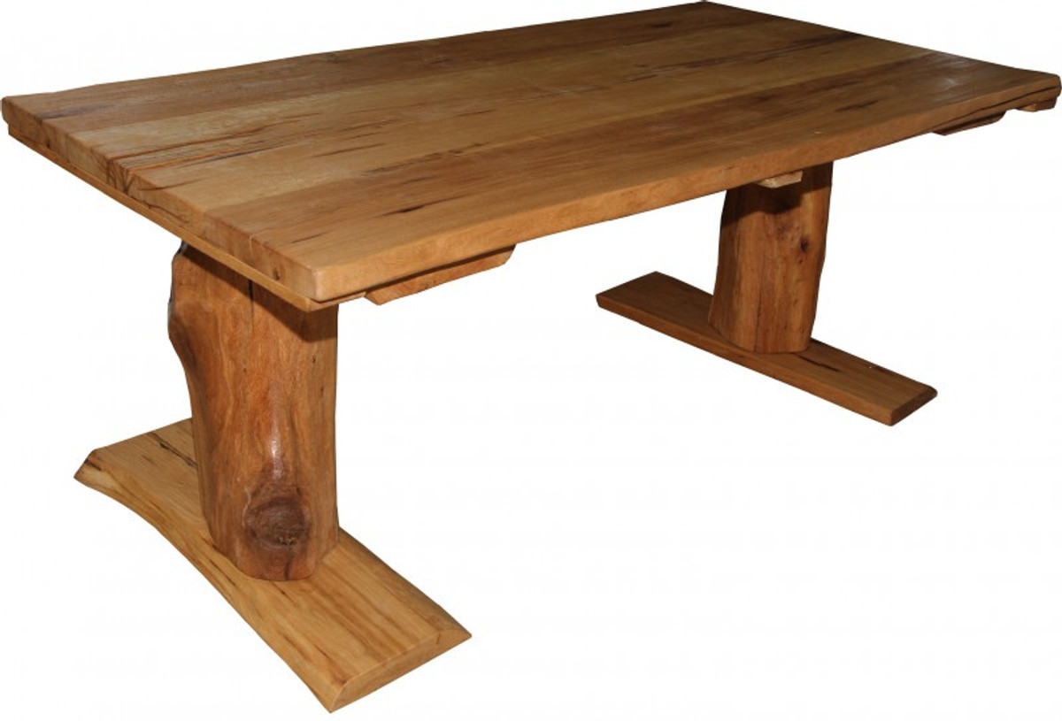Casa Padrino Vintage Dining Table Rustic Solid Oak 200 X 100 Cm Mod TR1    Country